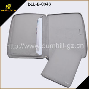 A5 Size PU Notebook Folder with Zip Around From Guangzhou Factory
