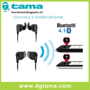 New Bluetooth V4.1 Sport Wireless Headset in-Ear Earphone Black Color pictures & photos