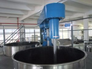 Hydraulic Paint Mixer with Operation Platform pictures & photos