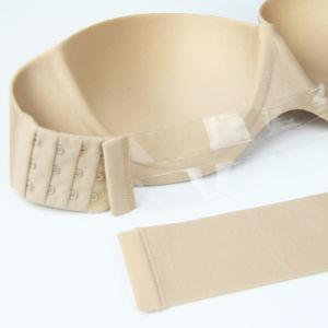 Seamless Underwear Strapless Wedding Dress Halter Bra Gather Invisible Bra pictures & photos