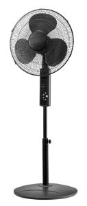 16 Inch High End Oscillating Stand Fan with Remote Control (Metallic Titanium Painting) pictures & photos