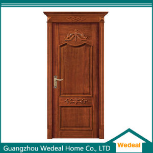 Factory Supply Classical Hand Crafted Exquisite Solid Wood Door pictures & photos
