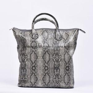 Elegant Python PU Tote Bag pictures & photos