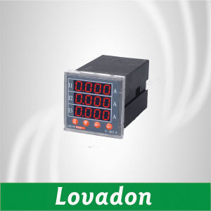 Dt194I-Dx4 Three Phase Digital Current Meter 48*48mm/Power Consumption Meter pictures & photos