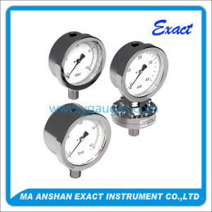 Factory Price All Ss Silicone Glycerine Liquid Filled Pressure Gauge pictures & photos