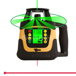 Automatic Self-Levelling Rotating Laser Level with LCD Display (400HV Red / 400HVG Green) pictures & photos