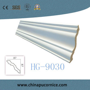 Polyurethane Crown Moulding/PU Foam Cornice Moulding for Ceiling Decoration pictures & photos