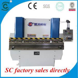 Wc67k-40t/1600 Double Servo Hydraulic CNC Press Brake with MD320 Numeric System for Sale pictures & photos
