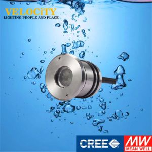 1PCS IP68 24V Stainless Steel Colorful Decoration Underwater LED Fountain Light pictures & photos