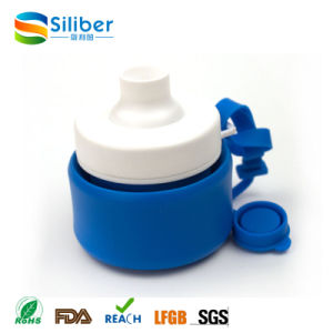 New Products 2016 Outdoor Portable Collapsible Travel Foldable Silicone Bottle