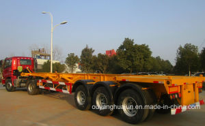 48 Feet Skeleton Container Semitrailer pictures & photos