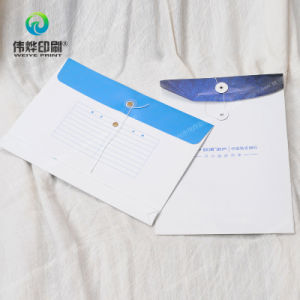 Paper Printing File Cover/Envelopes with Eyelet pictures & photos