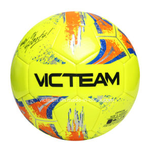 High-Gloss Official Size 5 TPU Training Football pictures & photos