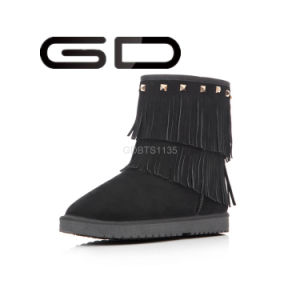 Factory Wholesale Italian Formal Tassel Boots Shoes for Winter pictures & photos