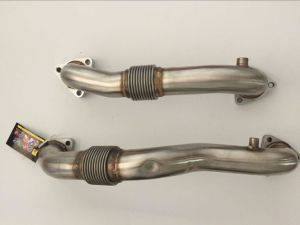 New 08-10 6.4L Powerstroke Diesel Turbo up-Pipe Kit with Gaskets & Hardware for Ford pictures & photos