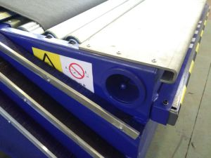 Telescopic Boom Belt Conveyor/ Truck Loading Expendable Conveyor pictures & photos