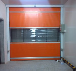 Commercial Automatic PVC High Speed Roller Shutter Door pictures & photos