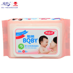 80PCS Face Cleansing Moist Towel/Moist Towelettes/Antibacterial Wet Tissue Paper pictures & photos