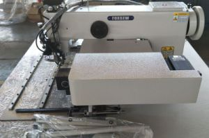 Programmable Pattern Sewing Machine for Heavy Duty Webbings and Straps pictures & photos