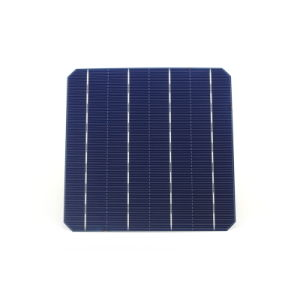 High Efficiency Grade a 4.7W 156mm Photovoltaic Monocrystalline Solar Cells pictures & photos