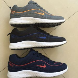 Athletic Men Comfort Walking Footwear Cheap Sports Shoes