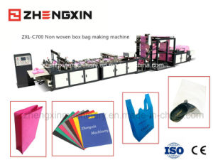Non Woven Promotion Bag Making Machine (ZXL-C700) pictures & photos