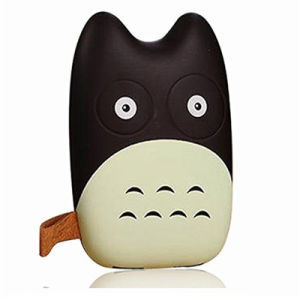 Portable 6000mAh Mini Totoro Shape Power Bank Mobile Phone Charger pictures & photos