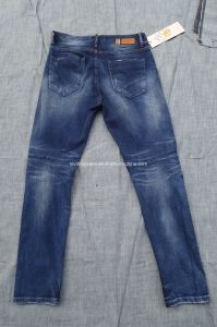Fashion Indigo Blue Men Jeans (E-83501) pictures & photos