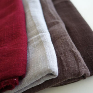 Soft Bamboo Linen Fabric 70% Viscose and 30% Linen
