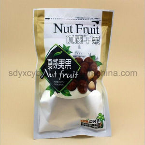Snack Nut/Dried Fruit Food Packing Bag with Zipper pictures & photos