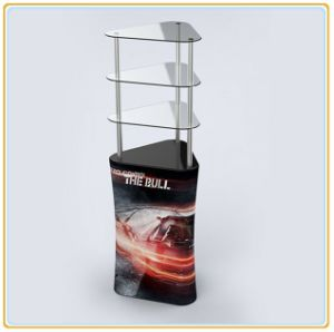 Triangular Promotion Display Rack for Trade Show pictures & photos