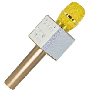 Q7 Speaker KTV Mobile Phone Bluetooth Wireless Portable Karaoke Microphone pictures & photos