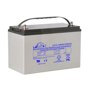 100ah 12V Lead Acid Battery for Solar Power pictures & photos