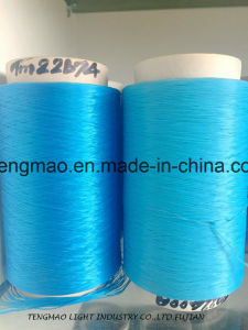 900d Blue PP Yarn for Webbings pictures & photos