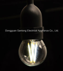 4W Dimmable E26 G50 Lamp Bulb LED Filament Light pictures & photos