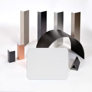 Aluis Exterior 6mm Aluminium Composite Panel-0.50mm Aluminium Skin Thickness of FEVE High Glossiness Pure White pictures & photos