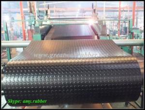 Gw3001 Anti-Slip Rubber Sheet, Dense Round Button Rubber Mat pictures & photos