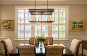 High Quality UPVC Jalousie Window, UPVC Blind Window Glass pictures & photos