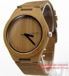 2016hot Sale Cheap Wooden Watch Men′s Wrist Watches Couple′s Wooden Wrist Watch pictures & photos