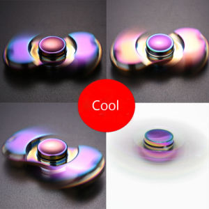 2017 New Arrival Colorful Fidget Spinner Hand Fidget Toy Aluminum Fidget Spinner Colorful Hand Spinner Lead pictures & photos