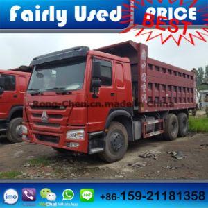 2015 Model Used HOWO Dump Truck 6*4 371HP