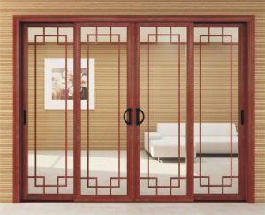 Hongtai As2047 Standard Double Glazing Standard Sliding Glass Door pictures & photos