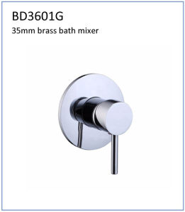 Bd3601g 40mm Brass Single Lever Built-in Bath Faucet pictures & photos