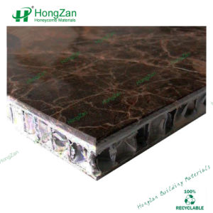 Stone Slab Honeycomb Panel with Dry Hanging System pictures & photos
