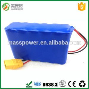 Rechargeable Lithium 36V 10ah LiFePO4 Battery Pack 18650 Batteries