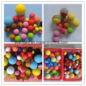 High Density Colorfully EVA Sponge Foam Ball pictures & photos