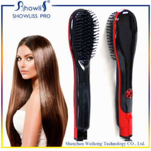 High Quality Mch Heater Electric Steam Comb Hair Straightener pictures & photos