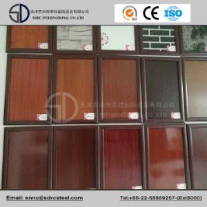 Wood Pattern Designed Prepainted Steel Coil Grain PPGI pictures & photos