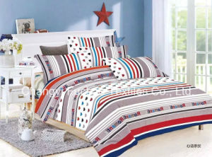China Wholesale Microfiber Printed Bedspread Bedding Sets Stock pictures & photos