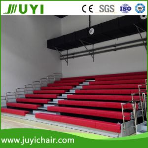 Indoor Gym Bleachers Retractable Indoor Gym Bleachers with Cheaper Price Jy-750 pictures & photos